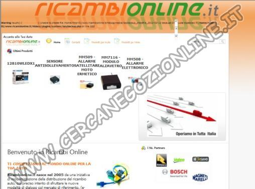 Ricambi On-line