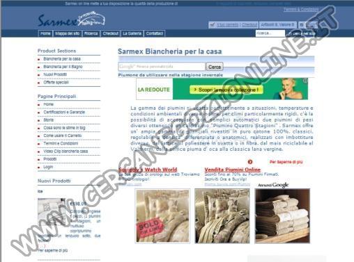 Sarmex Biancheria Casa