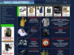 Navy Equipment