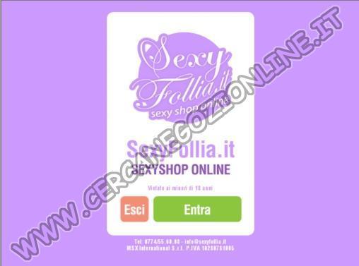 Sexy Shop Sexy Follia