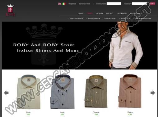 Roby and Roby - Camicie da Uomo e Donna