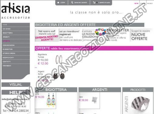 Alisia Accessorize Bigiotteria e Argenti Online