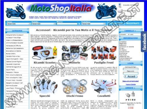 MotoShopItalia Accessori e Ricambi Moto – Scooter