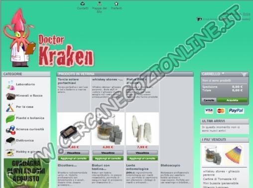 Doctor Kraken - Oggetti Introvabili
