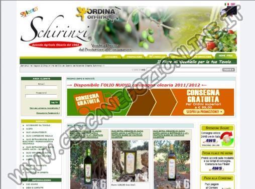 Vendita Online Olio del Salento