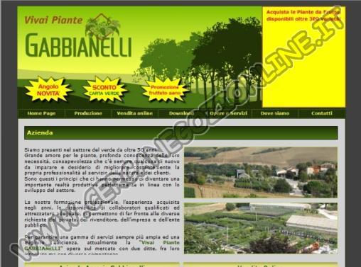 Vivai piante gabbianelli recensione sito di negozionline for Vivai piante