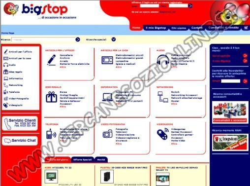 BigStop: Prodotti per l'Informatica