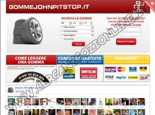 Gomme John Pitstop